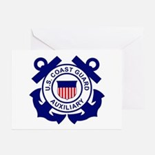 Coast Guard Auxiliary<BR> 6 Greeting Cards