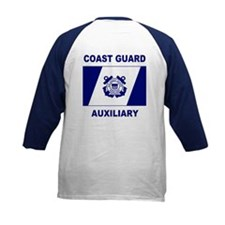 Coast Guard Auxiliary Kids Raglan Jersey 2