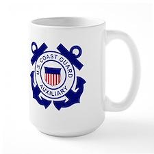 Coast Guard Auxiliary<BR> 15 Ounce Mug