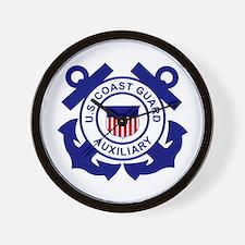 Coast Guard Auxiliary<BR> Wall Clock