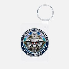 USN Machinery Repairman Skull Keychains