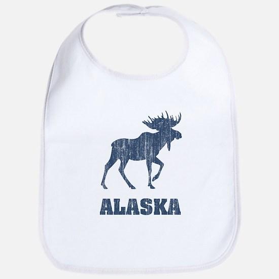 Retro Alaska Moose Bib