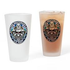 USN Aviation Boatswains Mate Drinking Glass