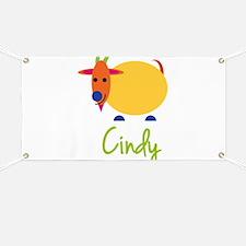 Cindy The Capricorn Goat Banner