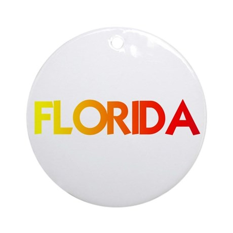 FLORIDA III Ornament (Round)