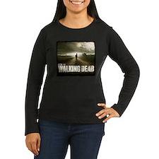The Walking Dead Farm Women's Long Sleeve T-Shirt