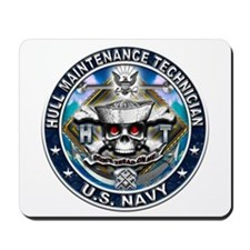 USN Hull Maintenance Technici Mousepad