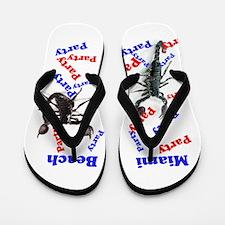 Spring Break Party Flip Flops