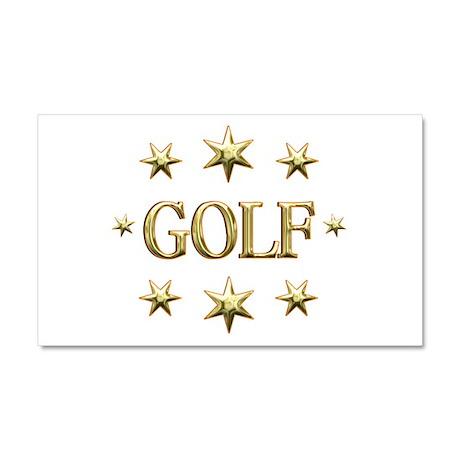 Golf Stars Car Magnet 20 x 12