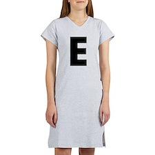 Letter E Women's Nightshirt
