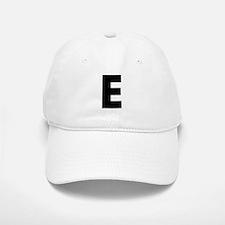 Letter E Baseball Baseball Cap