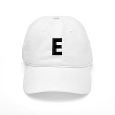 Letter E Baseball Cap