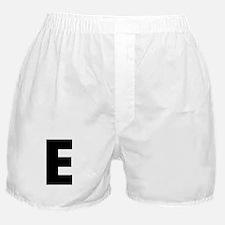 Letter E Boxer Shorts