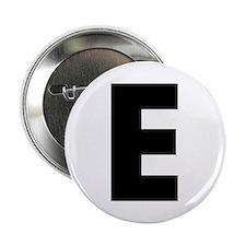 """Letter E 2.25"""" Button"""