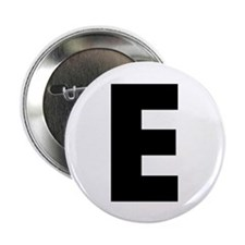 "Letter E 2.25"" Button (10 pack)"