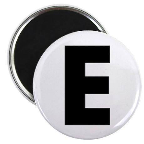 """Letter E 2.25"""" Magnet (10 pack)"""