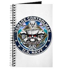 USN Damage Controlman Skull D Journal