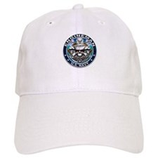 USN Engineman Skull EN Blue Baseball Cap