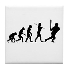 Evolve - Baseball Tile Coaster