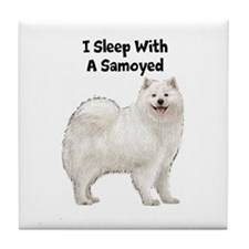 Samoyed Tile Coaster