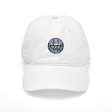 USN Sonar Technician Skull ST Baseball Cap