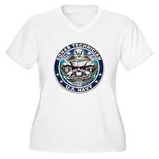 USN Sonar Technician Skull ST T-Shirt