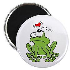 Frog Valentines Day Magnet