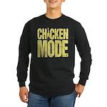 Chicken Mode Long Sleeve Dark T-Shirt