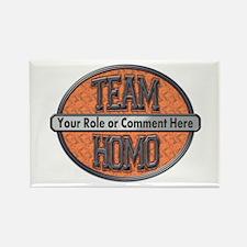 Team Homo (Custom) Rectangle Magnet