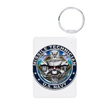 USN Missile Technician Skull Keychains
