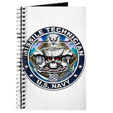 USN Missile Technician Skull Journal
