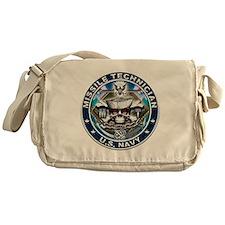 USN Missile Technician Skull Messenger Bag