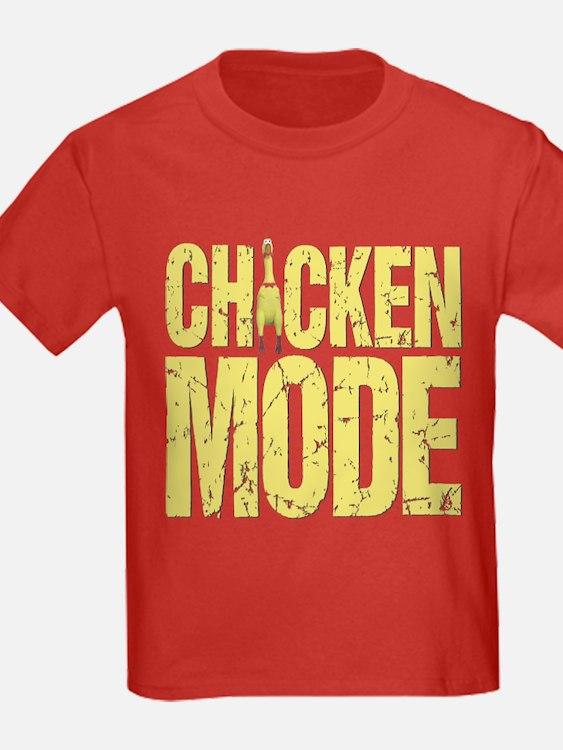 Chicken Mode Kids T-Shirt (4 colors)
