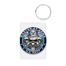 USN Master-At-Arms Skull MA B Keychains