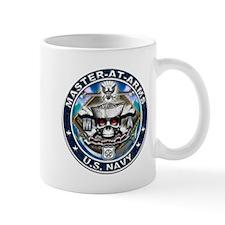 USN Master-At-Arms Skull MA B Mug