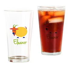 Eleanor The Capricorn Goat Drinking Glass