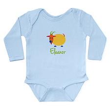 Eleanor The Capricorn Goat Long Sleeve Infant Body