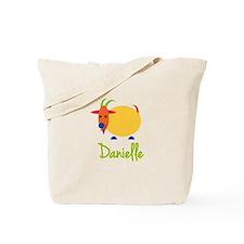 Danielle The Capricorn Goat Tote Bag