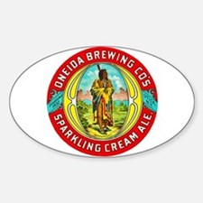 New York Beer Label 1 Decal