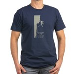 Lot to Think About Men's Fitted T-Shirt (dark)