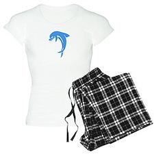 Blue Valentines Dolphins Pajamas