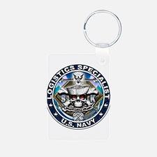 USN Logistics Specialist Skul Keychains