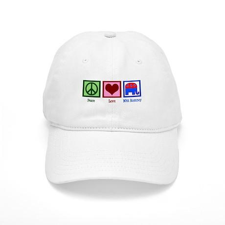 Peace Love Mitt Romney Cap