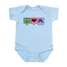 Peace Love Mitt Romney Infant Bodysuit