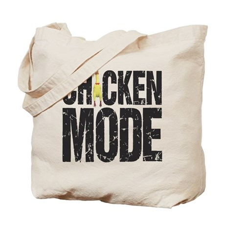 Chicken Mode Tote Bag