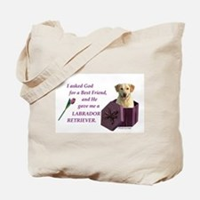 Labrador Retriever (Yellow) Tote Bag