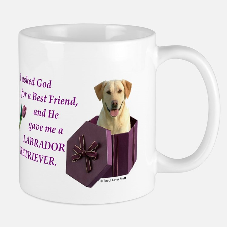 Labrador Retriever (Yellow) Mug