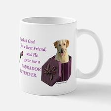 Labrador Retriever (Yellow) Small Mugs