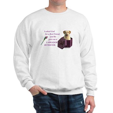 Labrador Retriever (Yellow) Sweatshirt