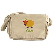 Renee The Capricorn Goat Messenger Bag